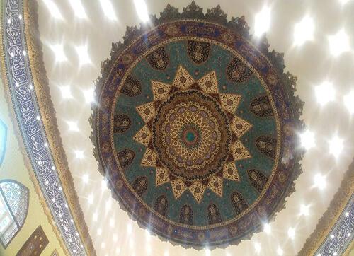 کد : 10038 ، گنبد مسجد نبی اکرم (کرمانشاه)