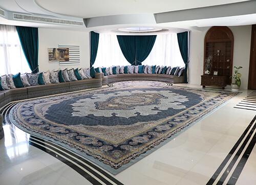 فرش لوکس و لاکچری منزل مسکونی عمان